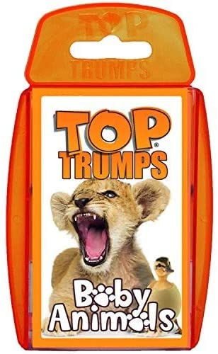 Top Trumps Baby Animals - Puzzles-and-Games.com