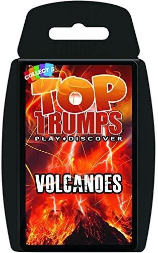 Top Trumps Volcanoes - Puzzles-and-Games.com