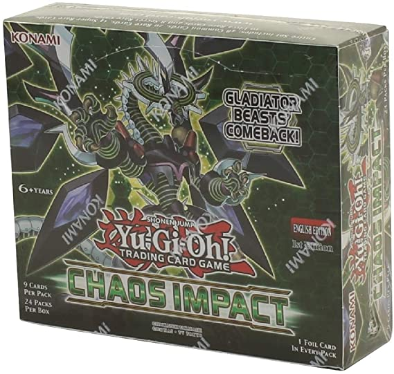 Chaos Impact 1st Edition Booster - Yu-Gi-Oh!