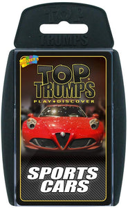 Top Trumps Sports Cars - Puzzles-and-Games.com