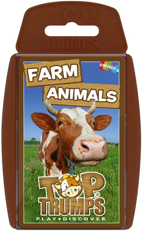 Top Trumps Farm Animals - Puzzles-and-Games.com