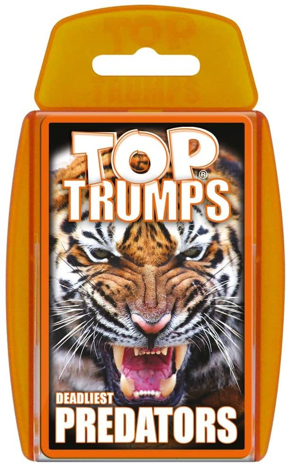 Top Trumps Predators - Puzzles-and-Games.com