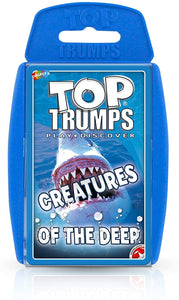 Top Trumps Creatures of the Deep - Puzzles-and-Games.com