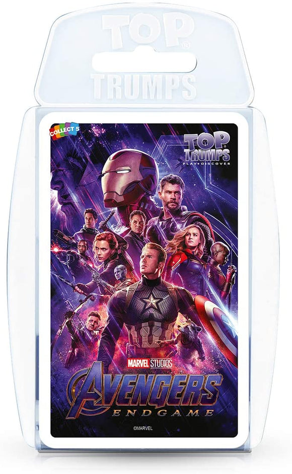 Top Trumps Marvel Avengers Endgame - Puzzles-and-Games.com