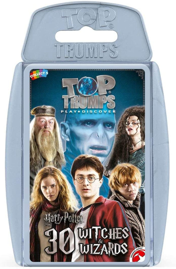 Top Trumps Harry Potter 30 Witches & Wizards - Puzzles-and-Games.com