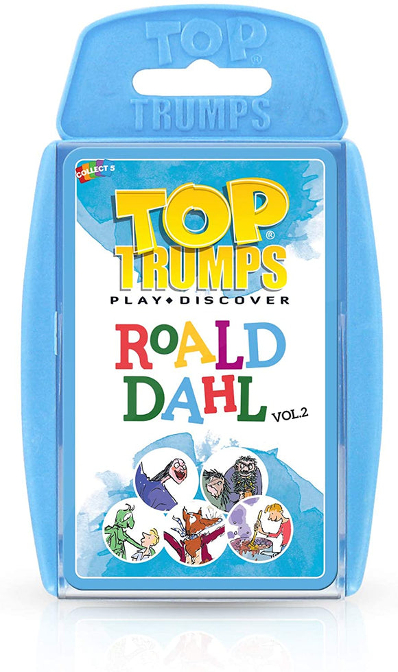 Top Trumps Roald Dahl vol. 2 - Puzzles-and-Games.com