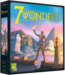 7 Wonders 2nd Edition Board Game