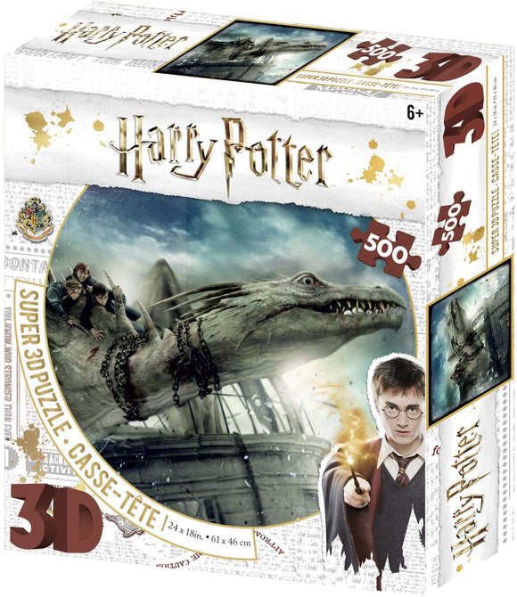 Harry-Potter-3D-Dragon-Jigsaw-Puzzle-Escape-from-Gringotts-Bank-500- Pieces