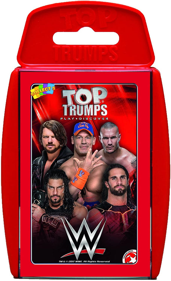 Top Trumps WWE - Puzzles-and-Games.com