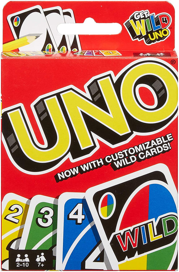 Uno! Card Game - Puzzles-and-Games.com