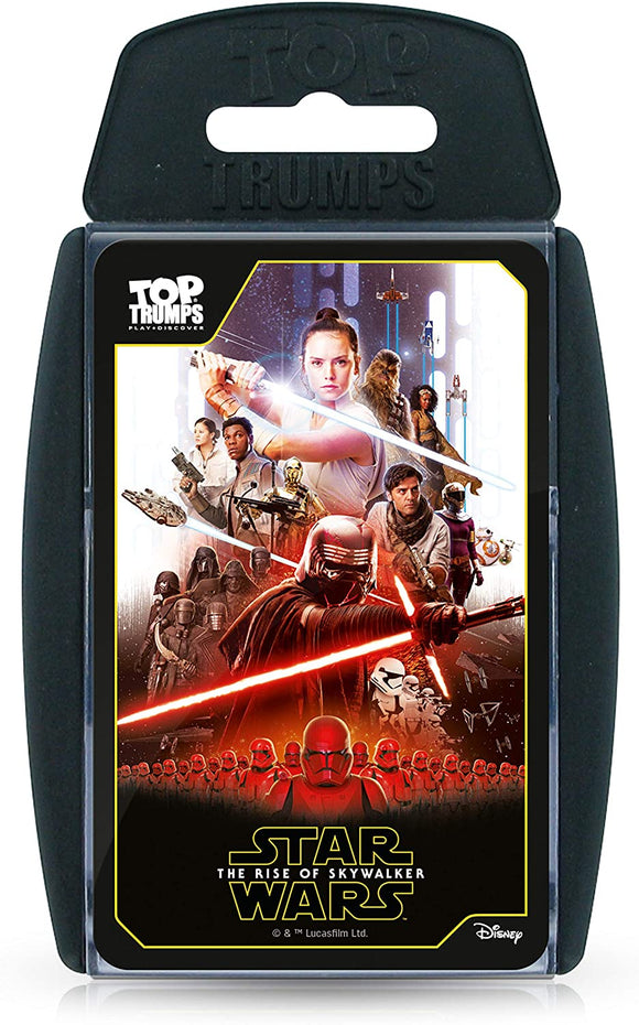 Top Trumps Star Wars Episode 9: The Rise of Skywalker - Puzzles-and-Games.com