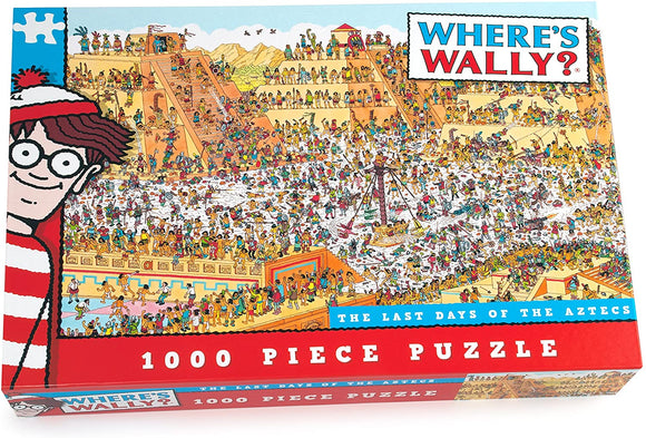 Where's Wally? Aztec 1000 Piece Jigsaw Puzzle - Puzzles-and-Games.com