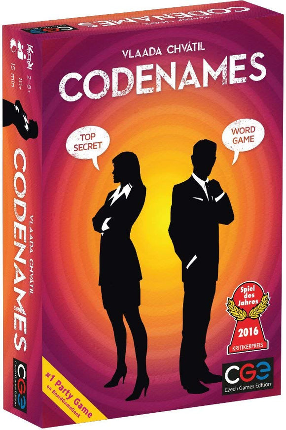 Codenames Party Game - Puzzles-and-Games.com