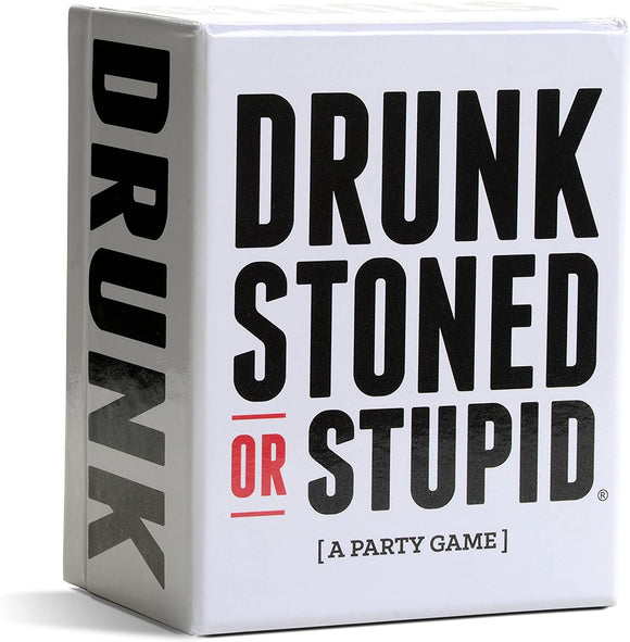 Drunk Stoned or Stupid: A Party Game - Puzzles-and-Games.com