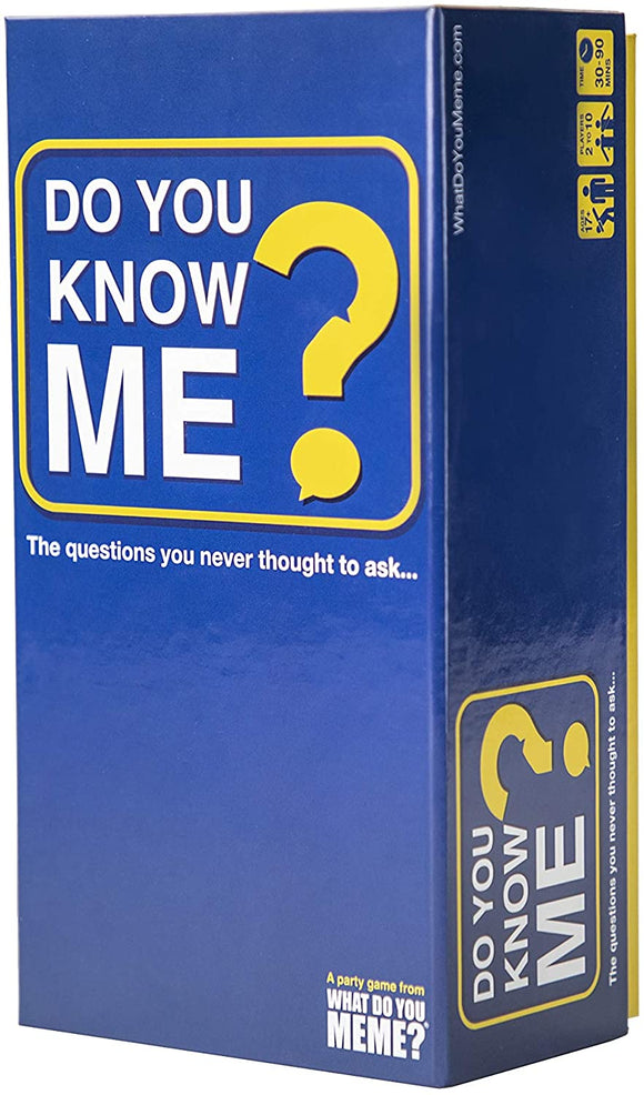 Do You Know Me? Party Game - Puzzles-and-Games.com