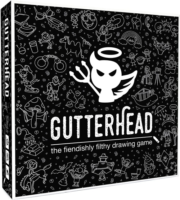Gutterhead - The Fiendishly Filthy Drawing Game - Puzzles-and-Games.com