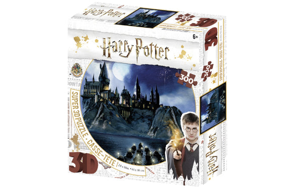 Harry Potter Prime 3D Puzzle Hogwarts - 300 pieces - Puzzles-and-Games.com