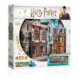 Harry Potter 3D Jigsaw Puzzle Diagon Alley 450 Pieces Wrebbit