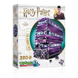 Harry Potter 3D Jigsaw Puzzle Knight Bus 280 Pieces Wrebbit