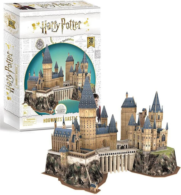 Harry Potter 3D Puzzle - Hogwarts Castle - Puzzles-and-Games.com