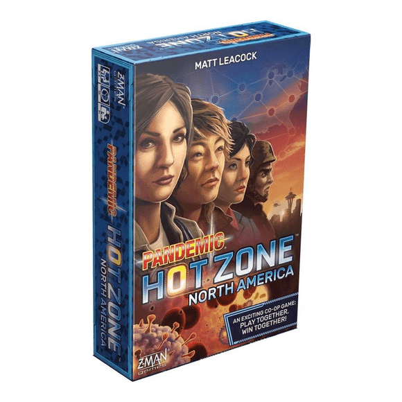Pandemic Hot Zone North America - Puzzles-and-Games.com