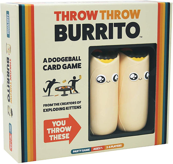 Throw Throw Burrito Game - Puzzles-and-Games.com