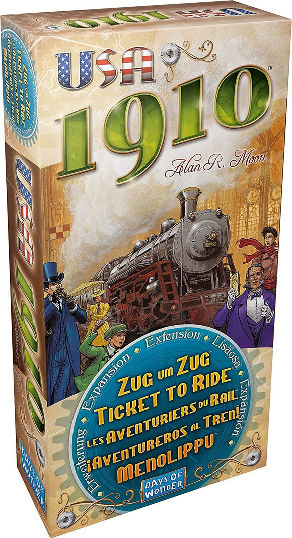 Ticket to Ride USA 1910 Expansion Pack