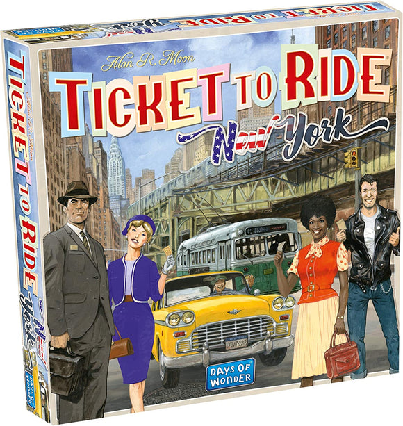 Ticket to Ride: New York - Puzzles-and-Games.com