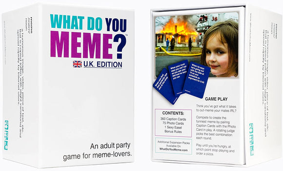 What do you Meme? UK Edition - Puzzles-and-Games.com