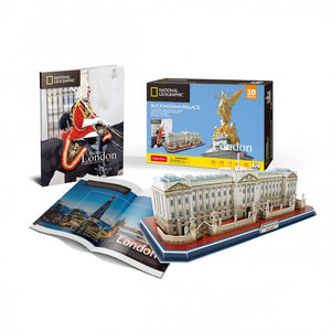 Buckingham Palace 3D Puzzle - National Geographic - Puzzles-and-Games.com