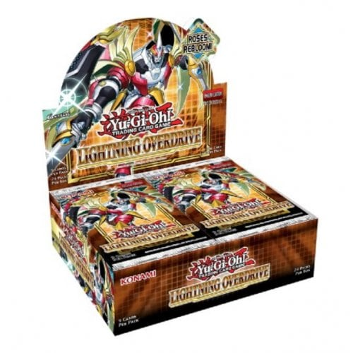 Lightning Overdrive Booster Box - Yu-Gi-Oh! - PRE-ORDER