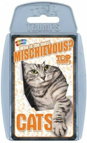 Top Trumps Cats - Puzzles-and-Games.com