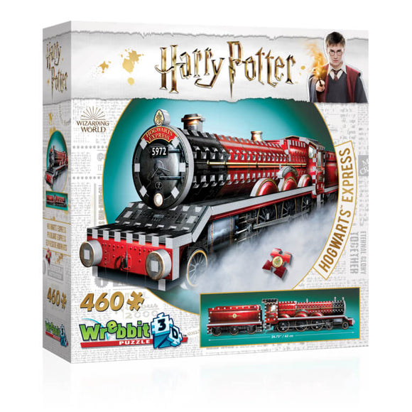Harry Potter 3D Jigsaw Puzzle The Hogwarts Express 460 Pieces Wrebbit