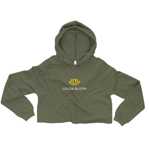 GB Ladies Branded Crop Hoodie