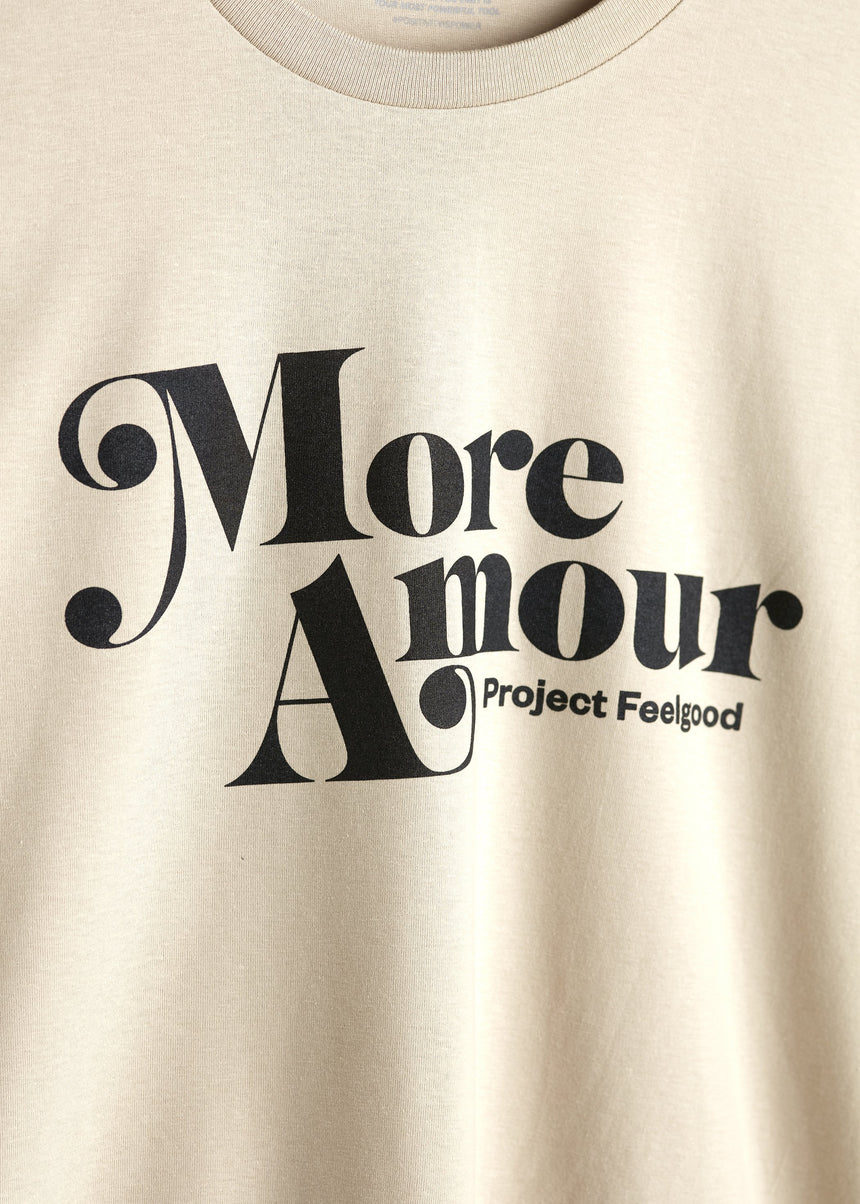 More Amour - Sahara Dust - Unisex Tee