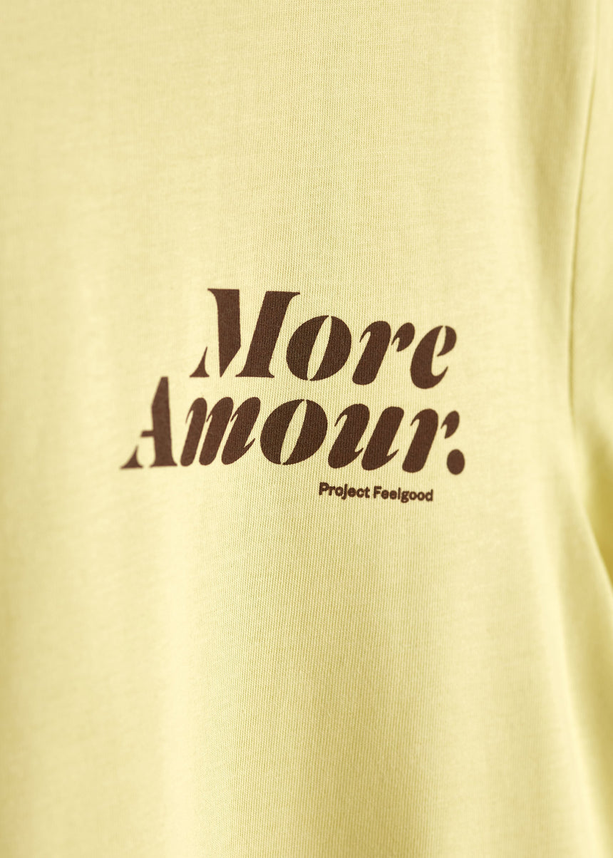 More Amour - Daisy Yellow - Unisex Tee