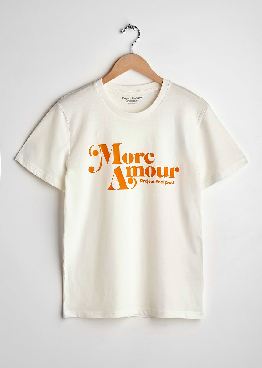 More Amour - Chalk White - Unisex Tee
