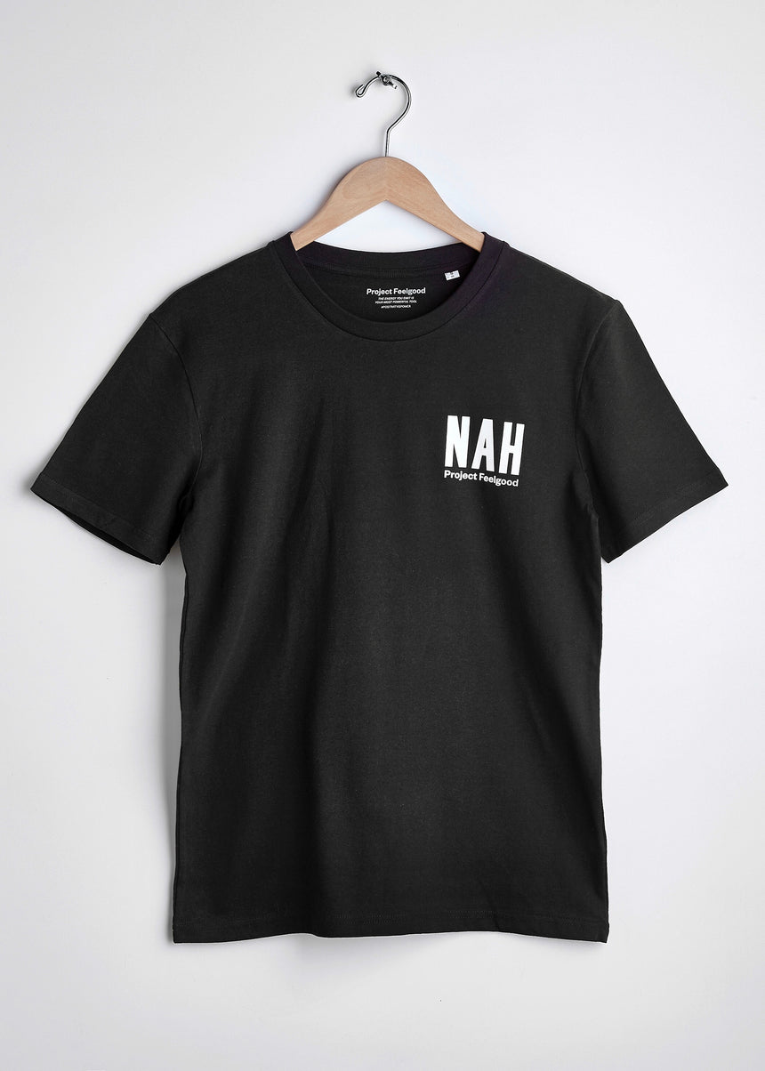 Nah - Midnight Black - Unisex Tee