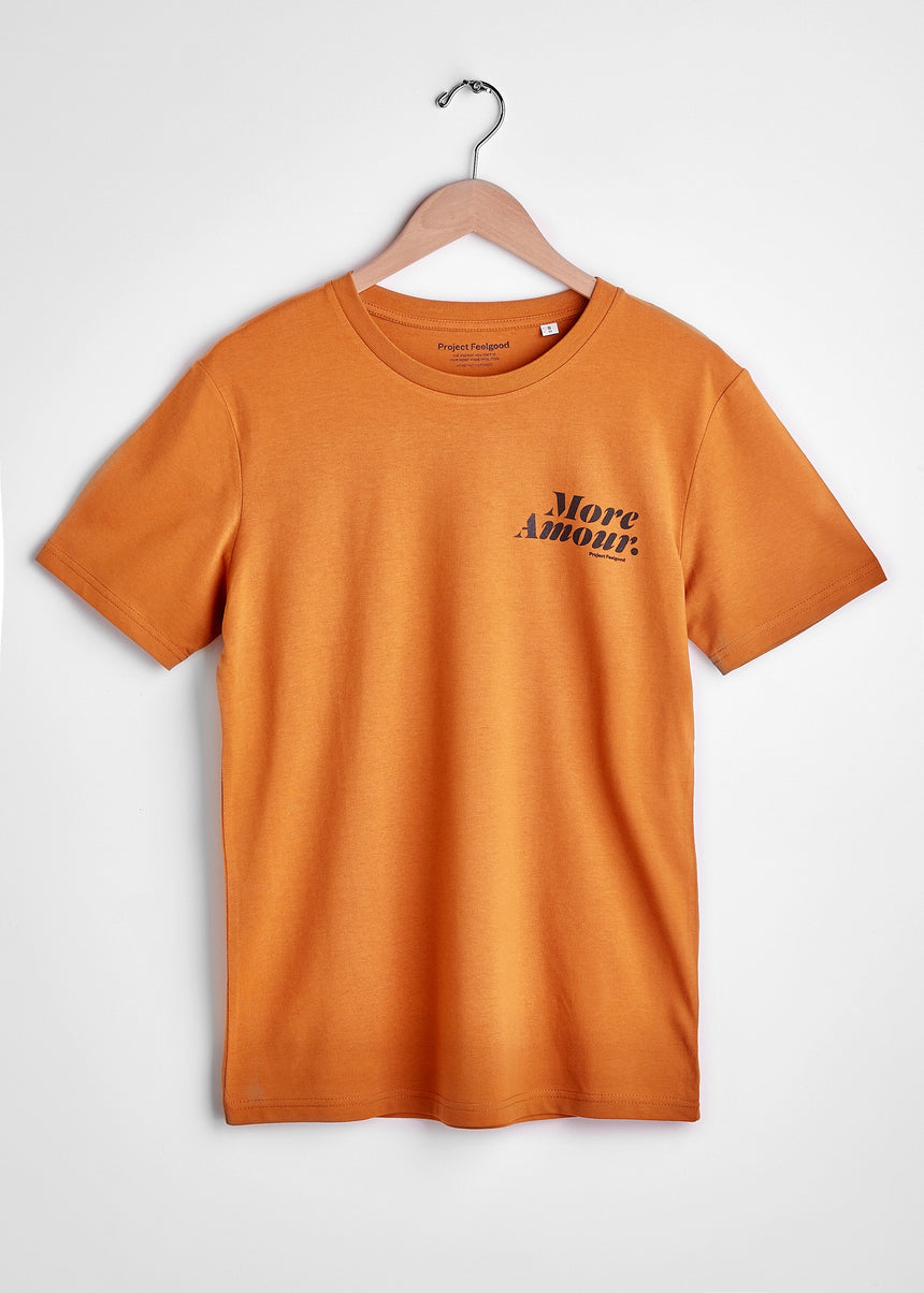 More Amour - Burnt Orange - Unisex Tee