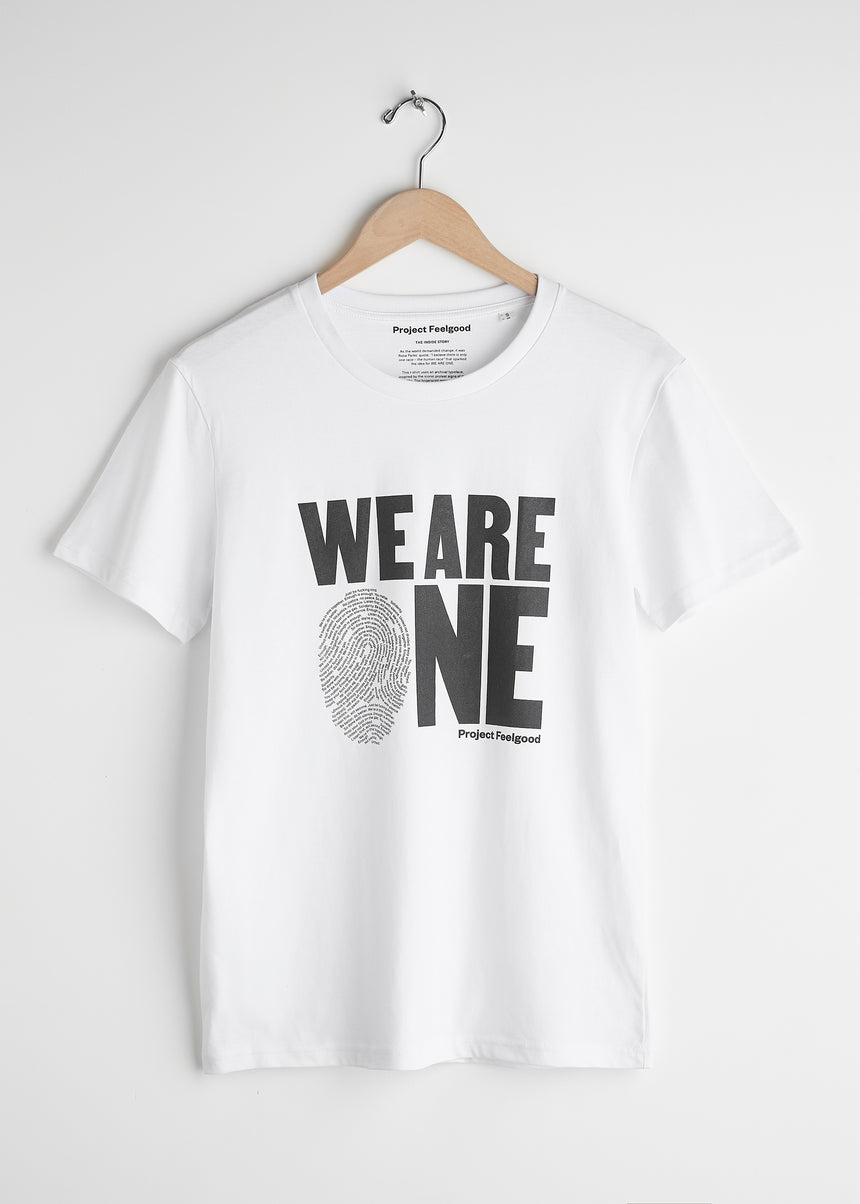 We Are One - Arctic White - Unisex Tee