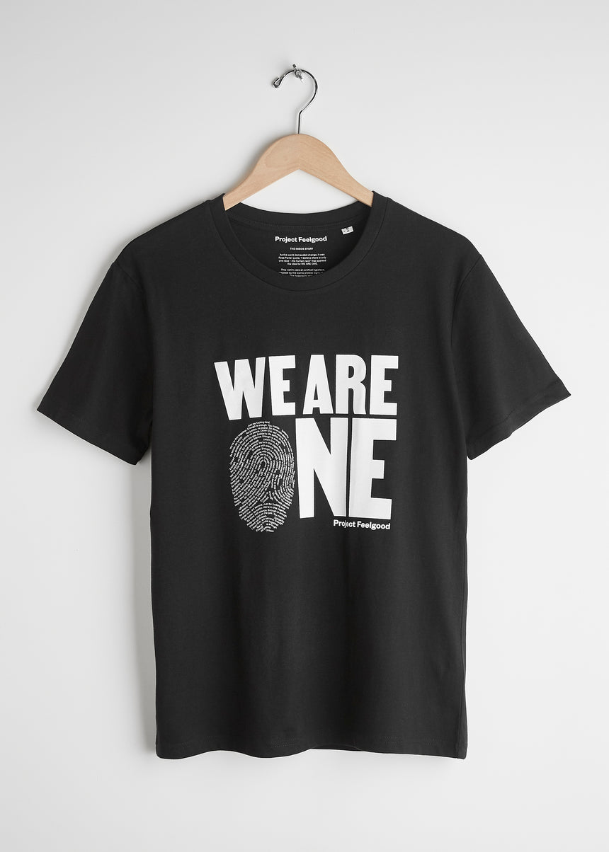 We Are One - Midnight Black - Unisex Tee