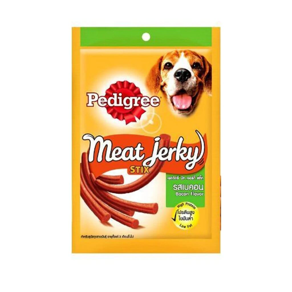 Pedigree Meat Jerky Bacon Stix 60G