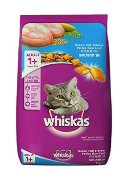 Whiskas® Adult 1+ Years Ocean Fish Flavour - Dry Cat Food