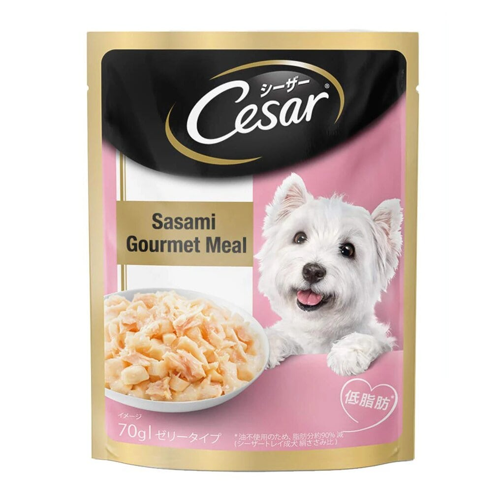 CESAR  SASAMI GOURMET MEAL 70G - Tom and Pluto
