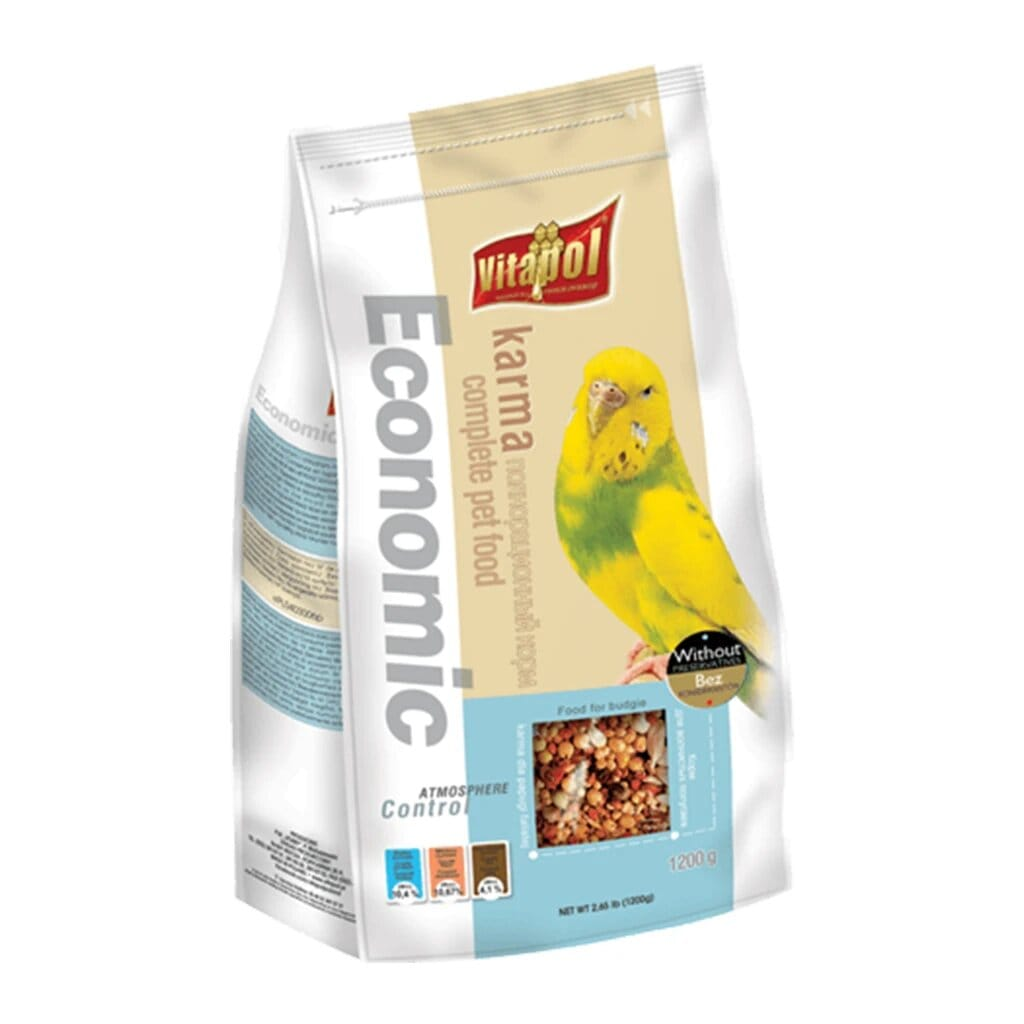 Vitapol Economic Food For Budgie - 1.2 Kg