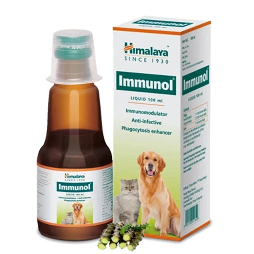 Himalaya Immunol Liquid - 100ml - Tom and Pluto