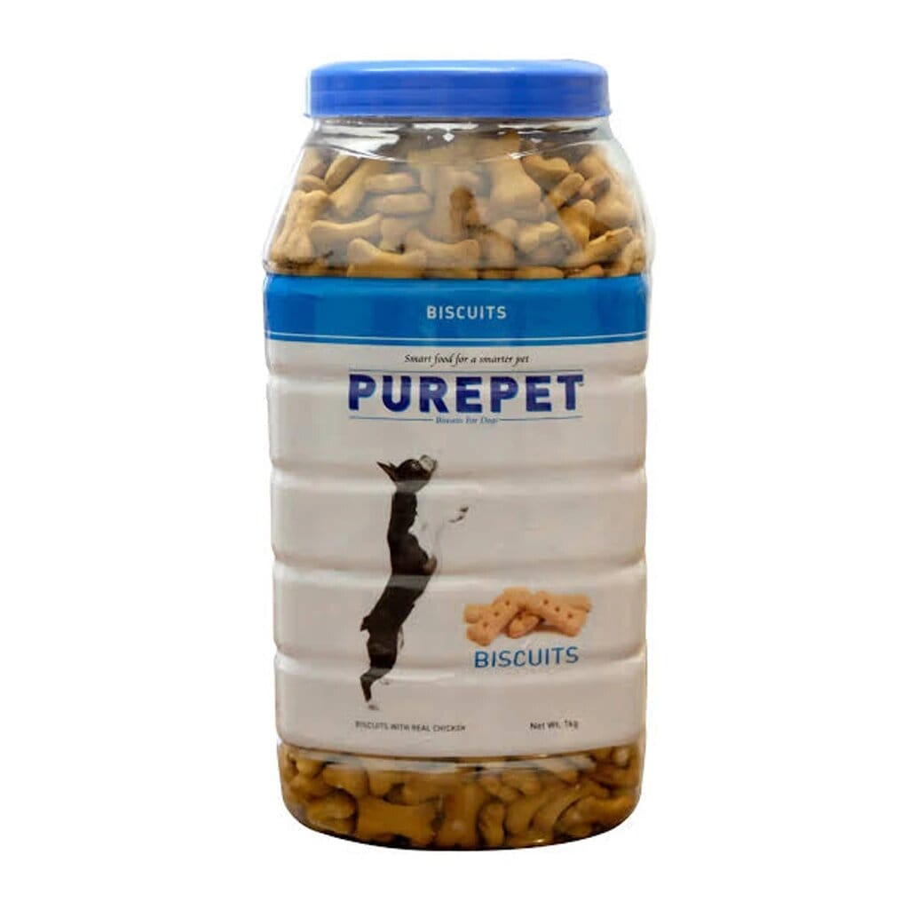 Purepet Dog Biscuit Milk Flavour - 1KG