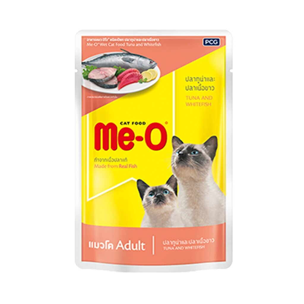 Me-O Tuna and Whitefish 80g (Pack of 12)