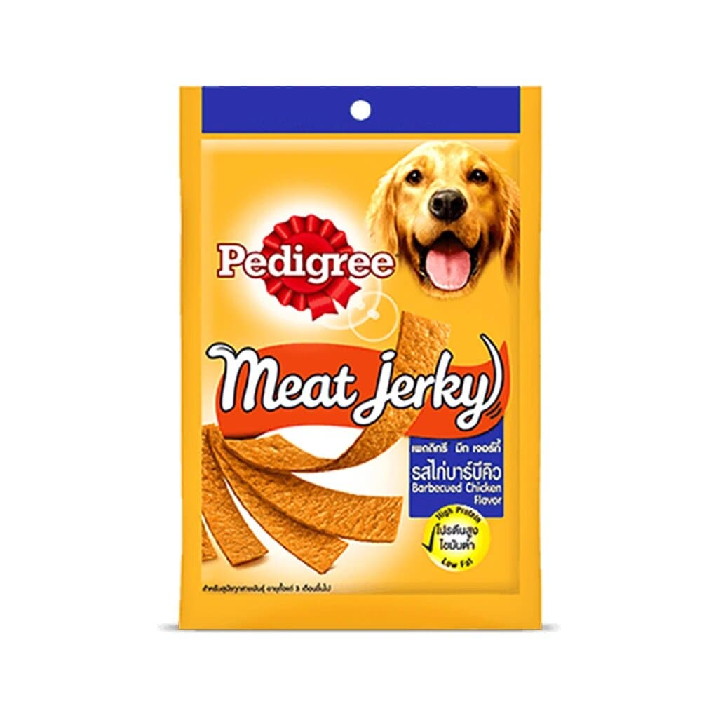 Pedigree Meat Jerky Barbeque Chicken Flavour 80G