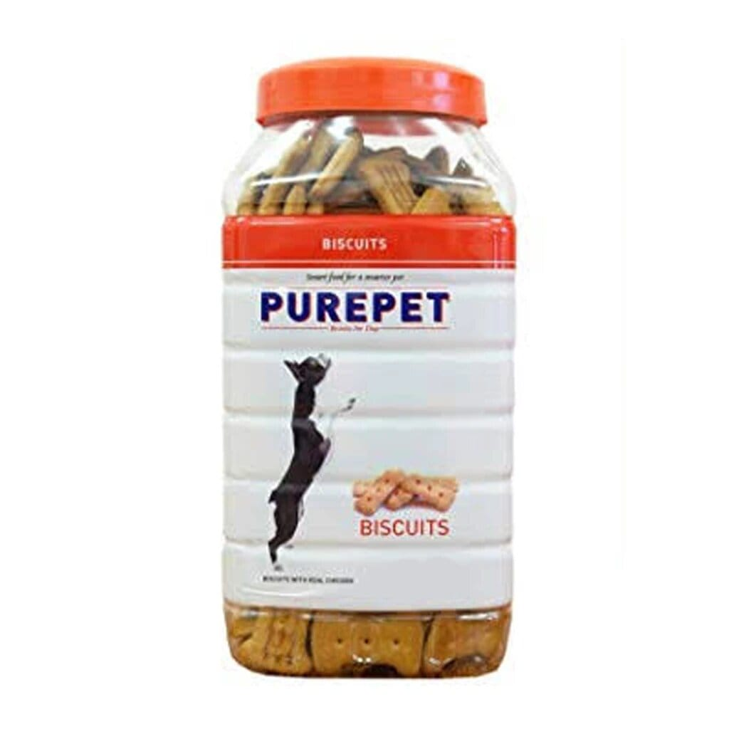 Purepet Dog Biscuit Chicken Flavour - 1Kg